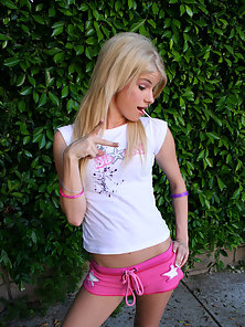 Defloration of cute blonde innocent teen Cameron