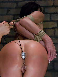 Cecilia Vega gets tied up and ass fisted by lesbian dominatrix