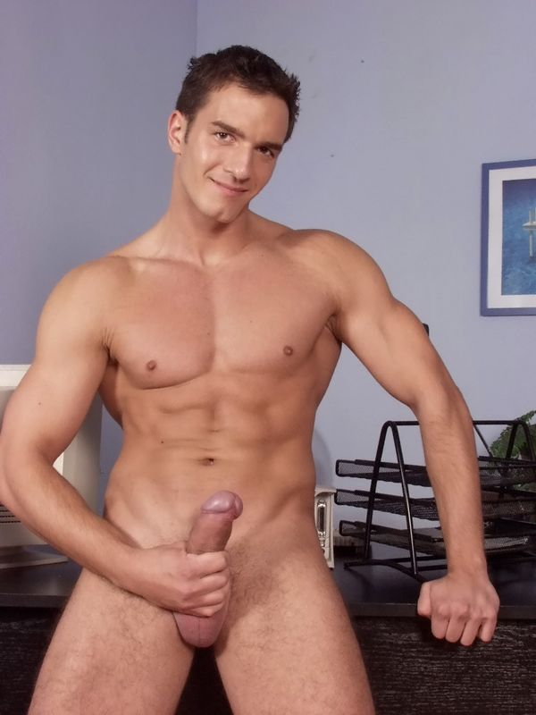 Appealing hunks group sex