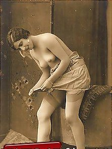 Cute topless vintage sweethearts
