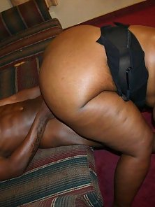 Fat Booty Chubby Black Babe Boned
