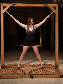 Bobbi Starr Tied Up, Suspended and Coming