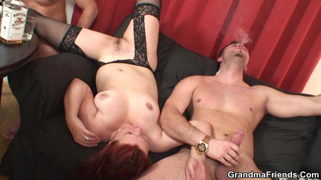 Granny milf strip poker