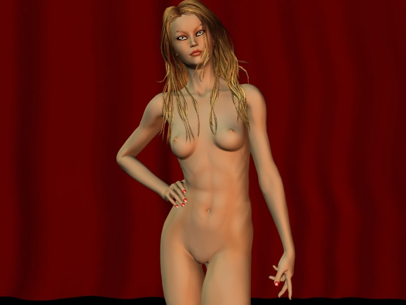 Nude 3D toon blonde babe posing - Mobile Porn Movies