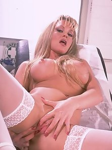 Blonde nurse wanting an emergency room fuckingg