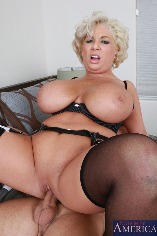 Busty mature big tits nice ass fucked behind