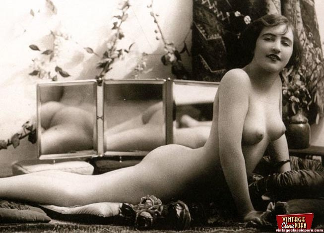 Hairy And Vintage Classic Women Old Times Pictures -9552