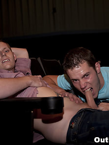 These boys love movies and sucking cock