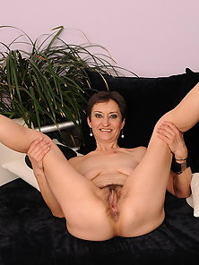A very hot old and young lesbian couple in action