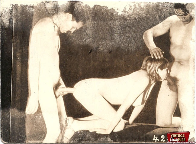 Very Real And Classic Vintage Hardcore Moresomes Pictures -8325