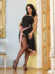 Katty N Sexy Stocking Spread