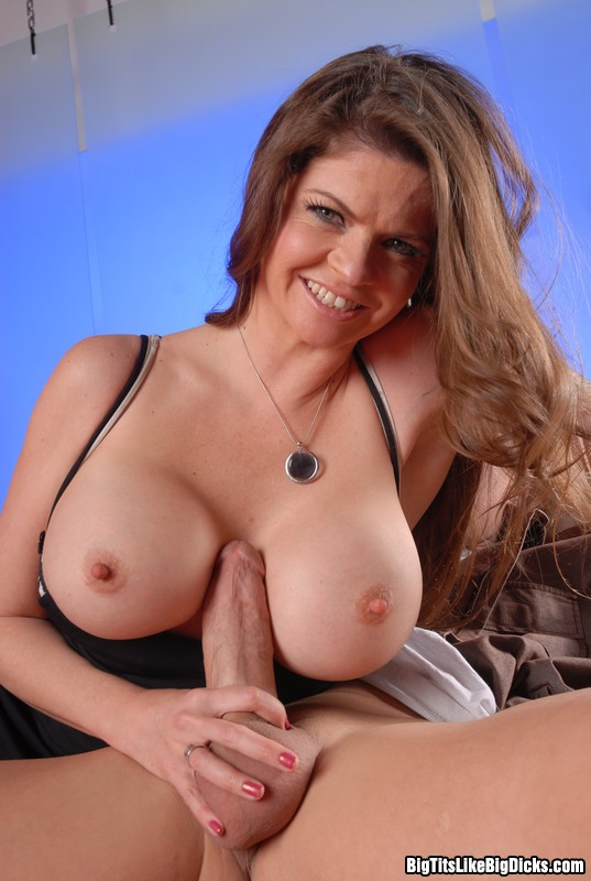 Busty tits and cock