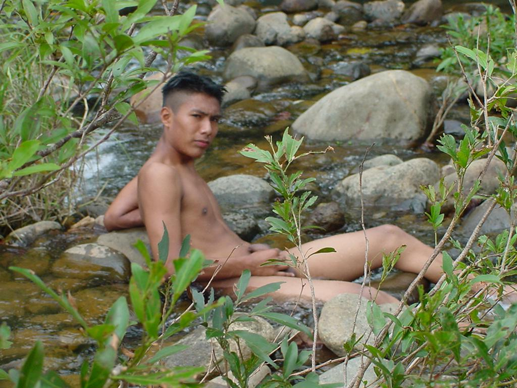 Remarkable, very mobile videos of naked latino