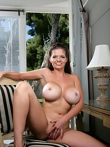 Sexy Milf Showing Off Her Fun Bags