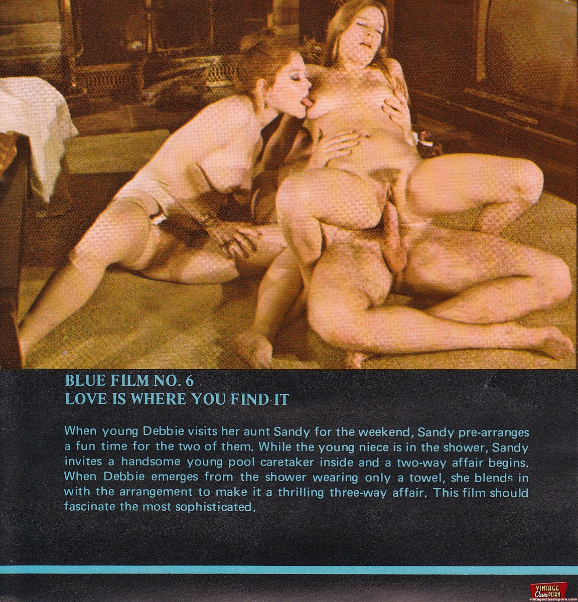 Really Vintage porn magazine gallery all fantasy