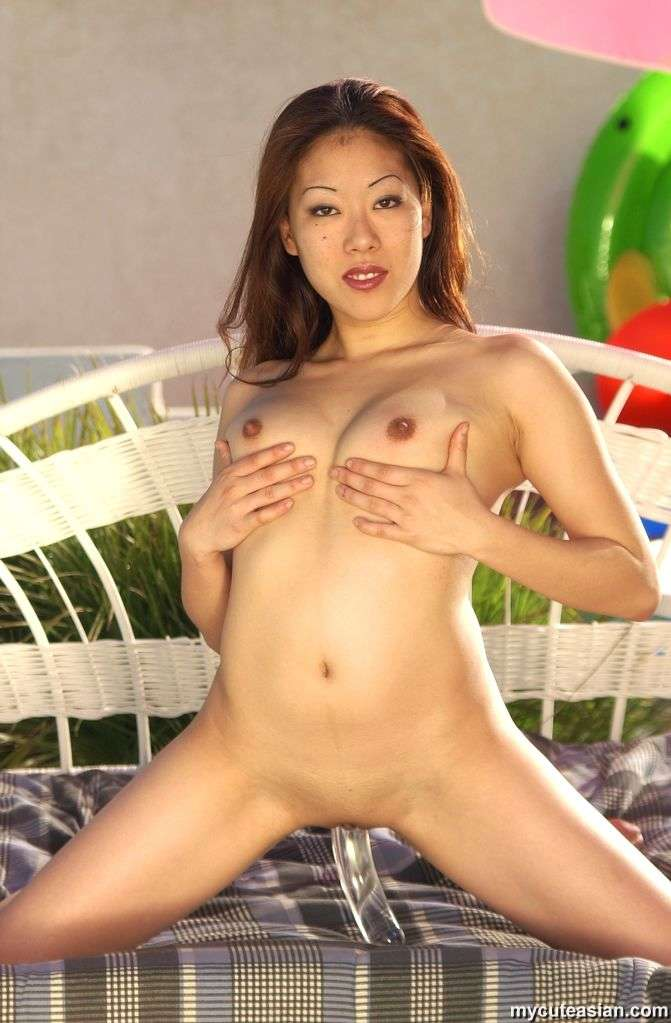 Asian shaved cunt