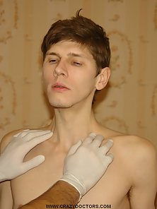 Electric stimulation for young twinks dick. Have you ever wanted to get your body explored by nasty
