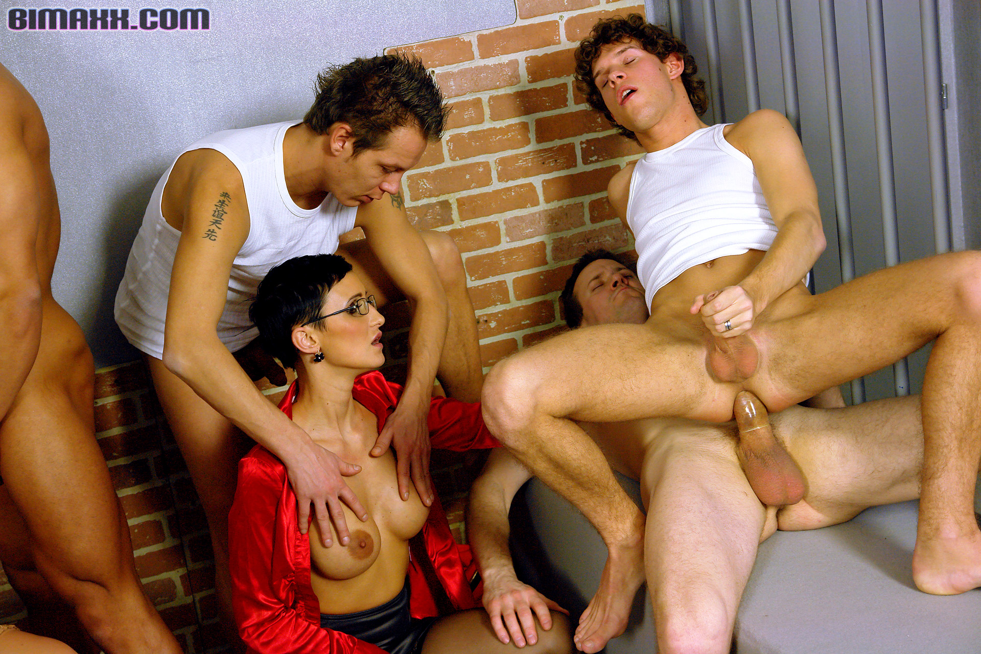 Free bisexual male group sex stories