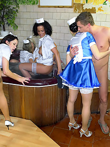 Very hot nurses shagged hardcore
