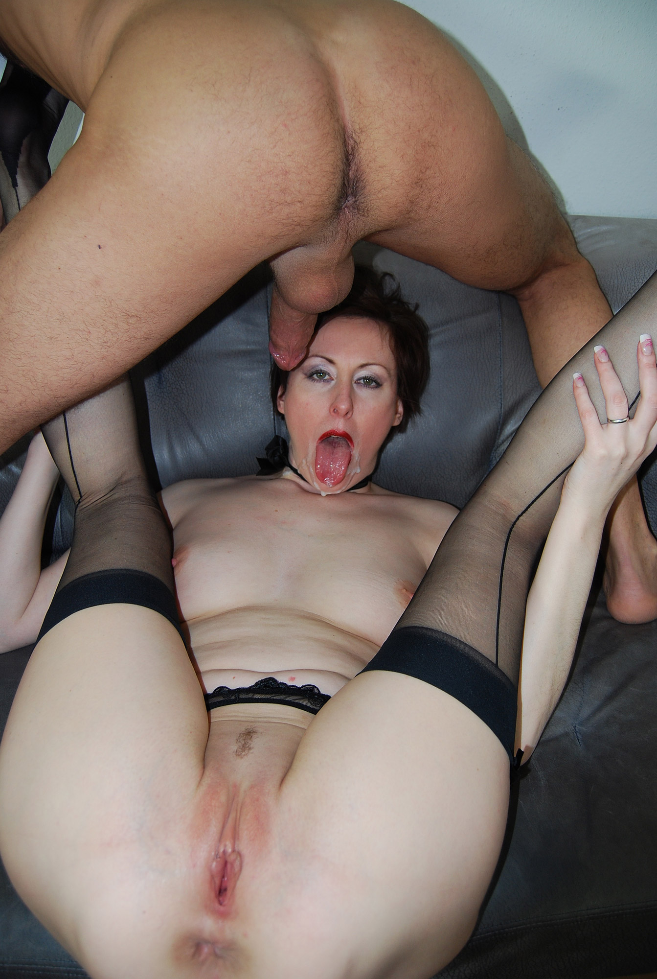 Red head milf creampie