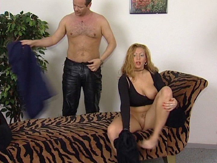 Slippery moist mature pussy welcomes his erect excited penis.