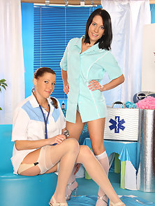 Two very naughty girls playing doctor on eachother pictures