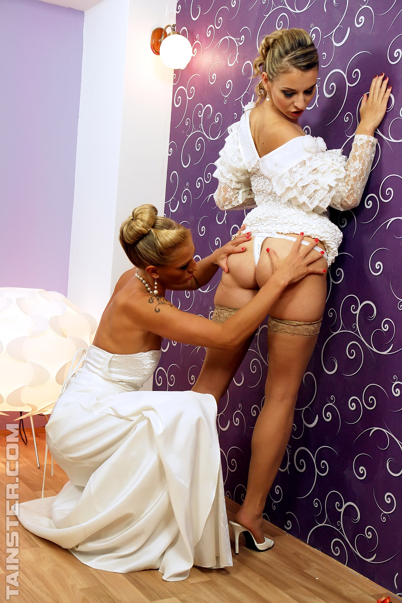 Bride with dildo — photo 14