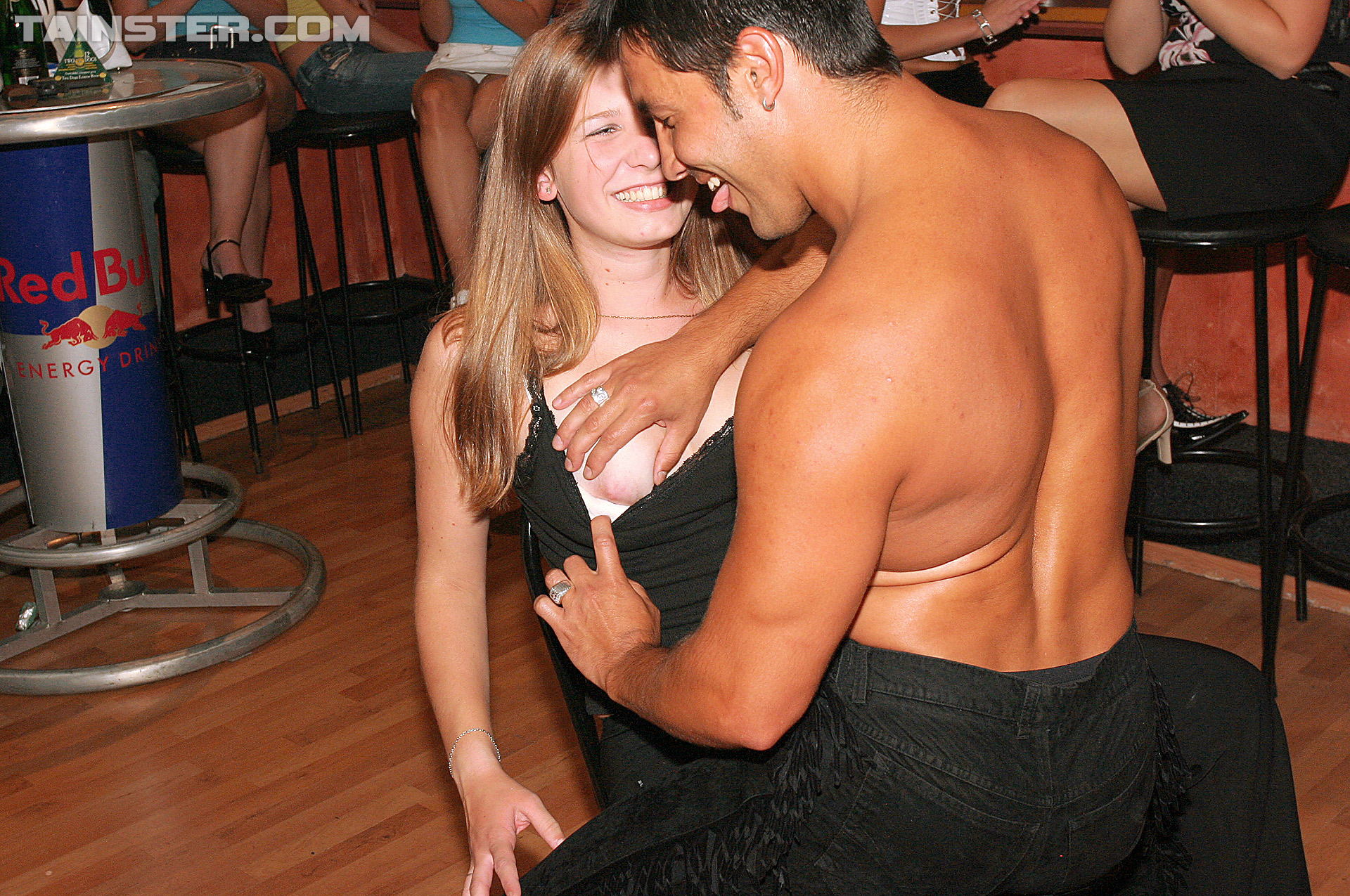 Bisexual female strippers