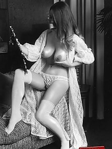 Several big boobed sixties ladies showing their goodies