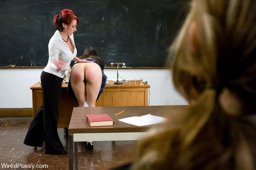 Three Hot Students Get Revenge On Their Teacher Kylie -8835