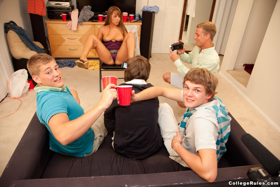 Party girls horny college
