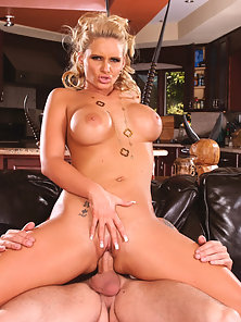 Phoenix Marie gets a big cock in her tight pussy