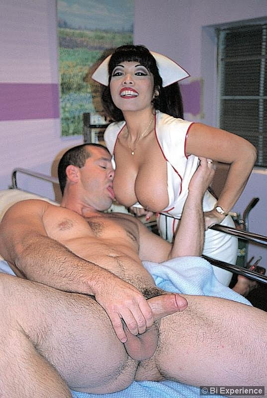Two sexy nurses licking cream from pussy 8