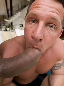 Buff boy gets his tight hole smashed my this massive cock