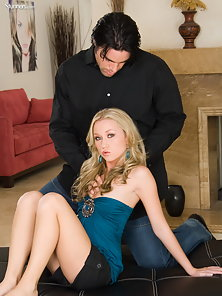Madison Scott receives a punishing load of cock