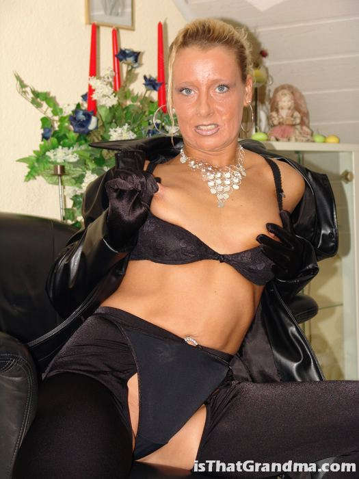 Sexy leather outfit sex