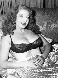 Classic babe tempest storm poses