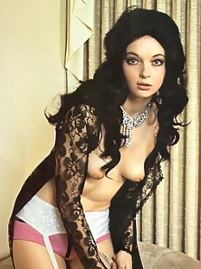 Classic hairy hippie girls from the sixties posing nude