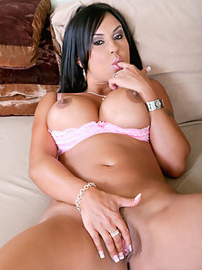 Smokin hot latina rides her mans huge cock