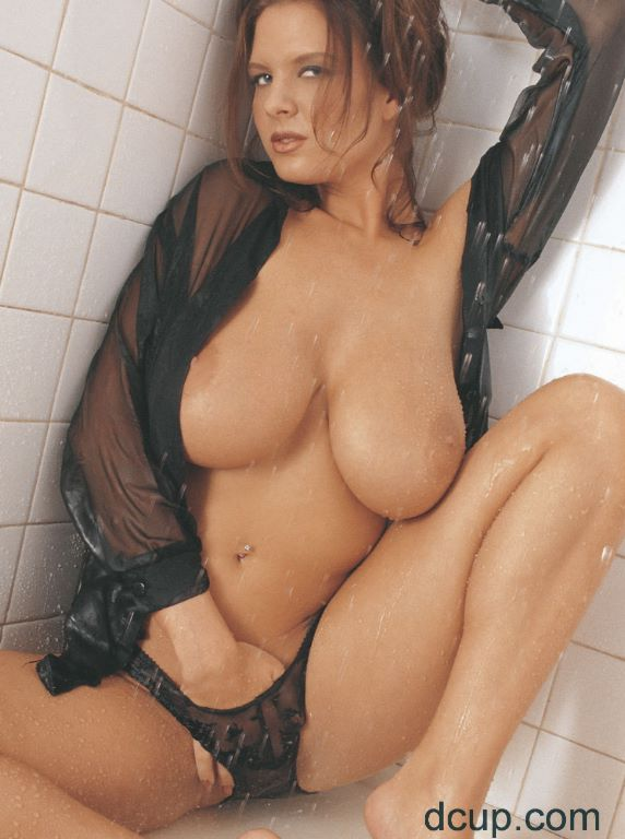 ... Beautiful Babe with Big Tits Pleasuring Herself In The Shower ...