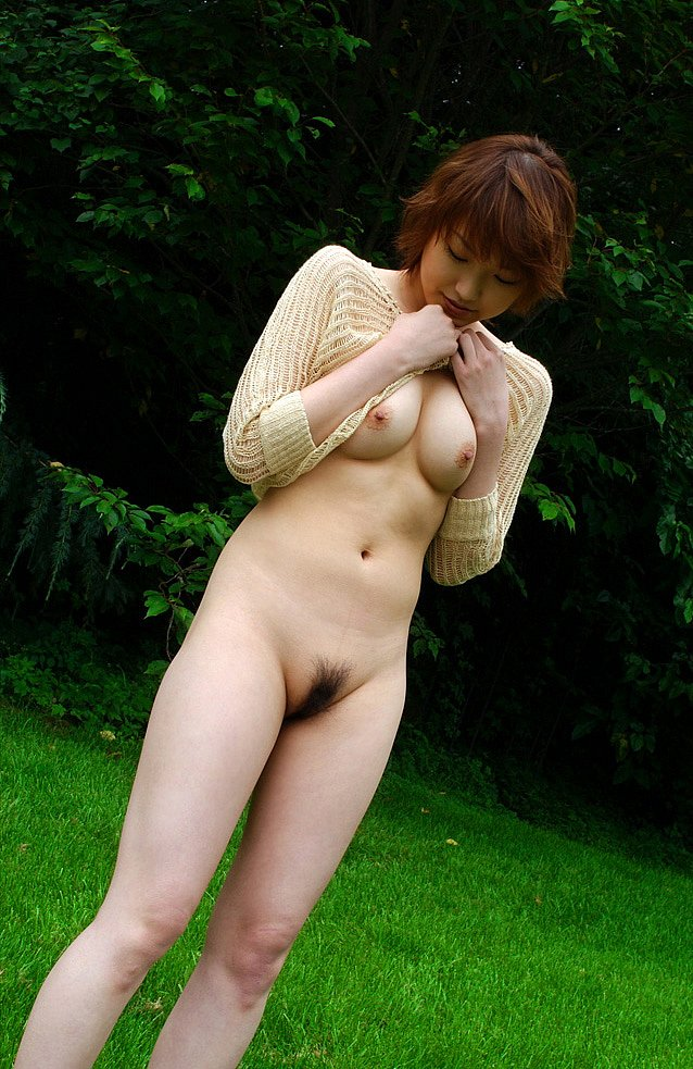 Hot naked girl in schoolgirl outfit-6614