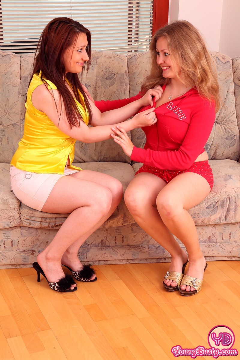 busty lesbian sweethearts kissing - mobile porn movies