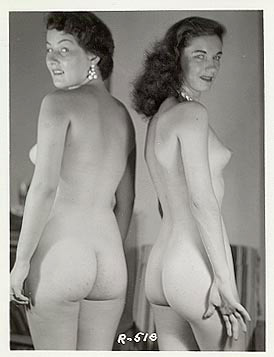 Vintage nude women butts thanks