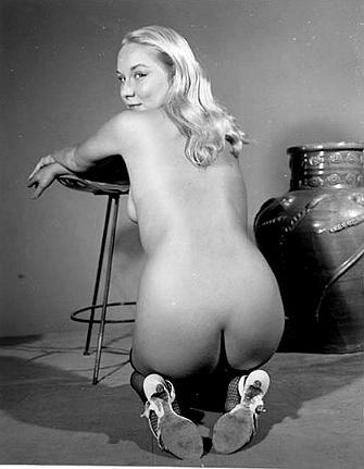 Photography nude woman vintage