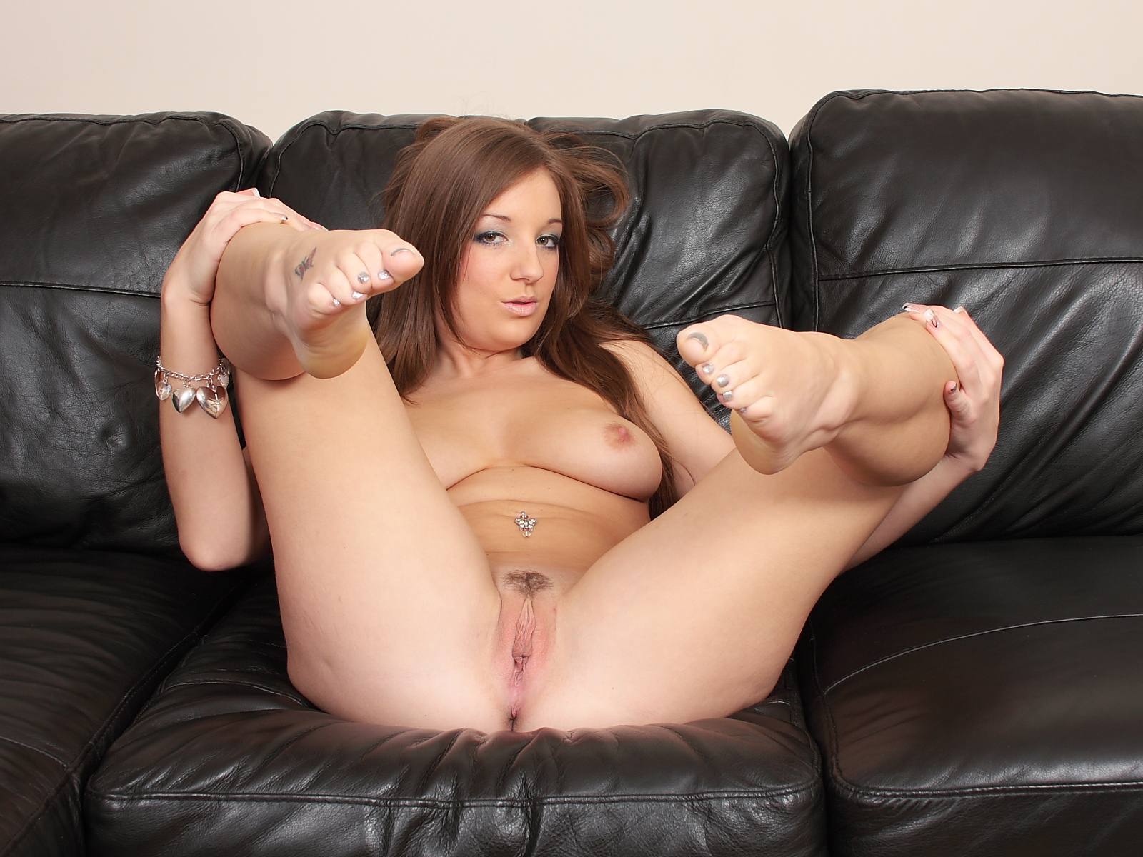 Pussy on the couch