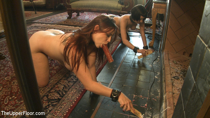 ... House slaves service the Upper Floor Masters and Mistresses ...