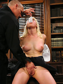 BDSM fantasy with threesome action and DP.