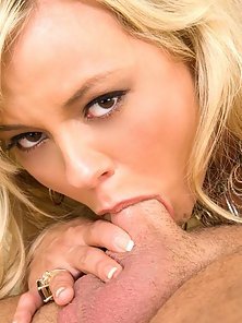 Bree Olson takes two shots of cum