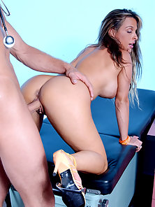 Holly boned roughly in her tight wet pussy