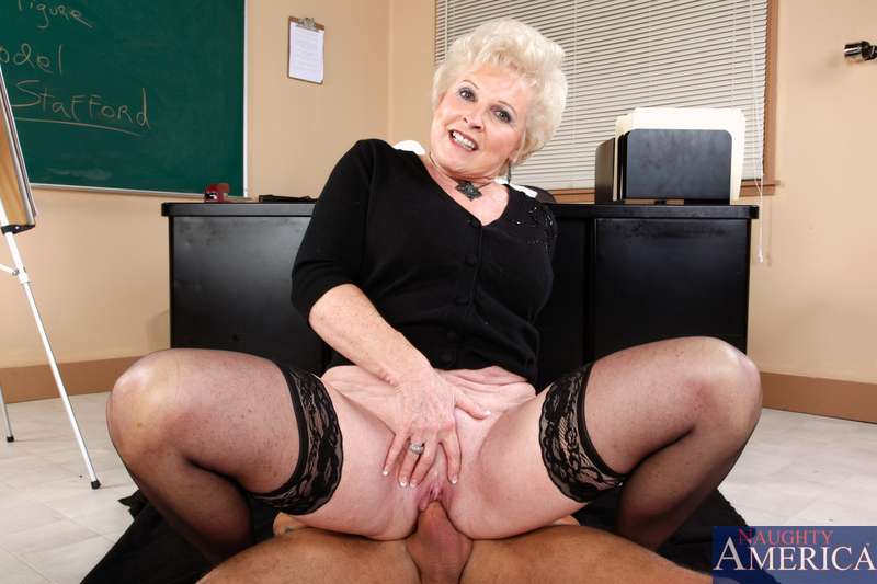 Granny mature teacher
